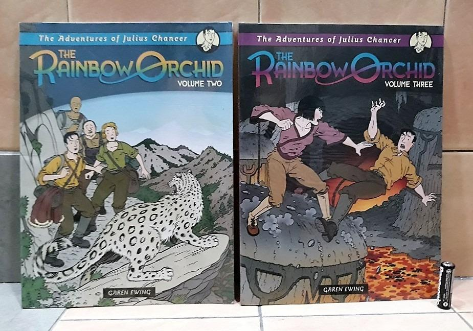 The Adventures of Julius Chancer: Vol 2 & 3 (The Rainbow Orchid) Paperbacks