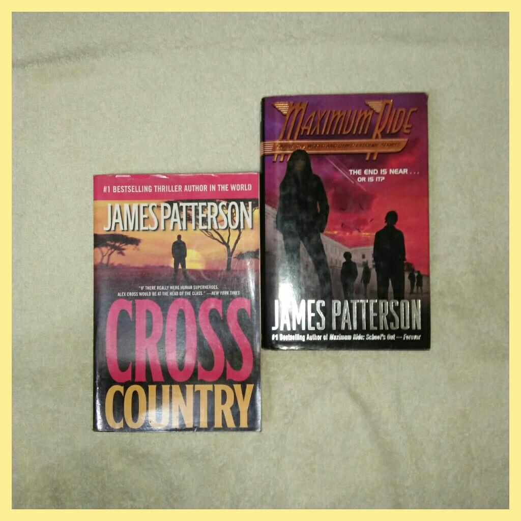 THE PILLARS OF THE GAME, MASTER OF THE GAME, CONFESSIONS OF A SHOPAHOLIC, CROSS COUNTRY, MAXIMUM RIDE