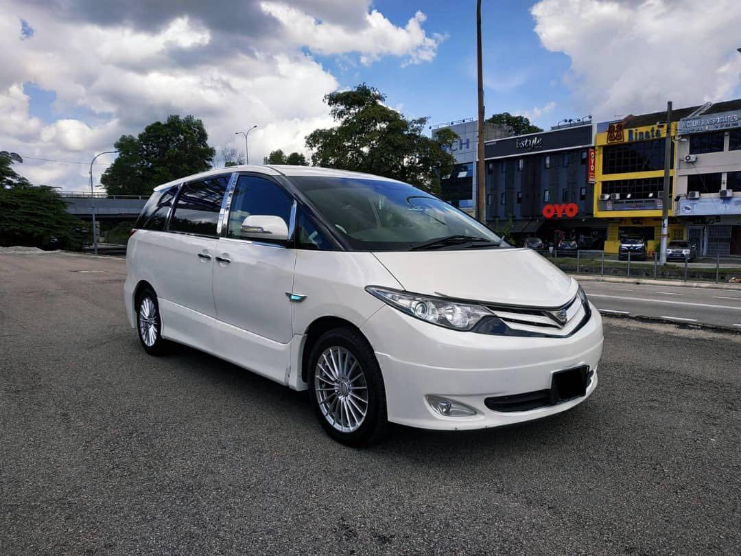 TOYOTA ESTIMA 3.5AT V6 7 SEATER 2 POWER DOOR 2006TH