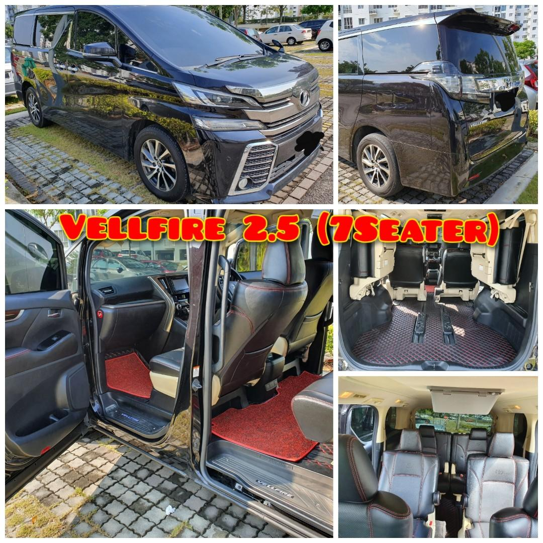 Toyota Vellfire 2.5 7seater SHAH ALAM.. www.keretasewakl.my  CALL 0199967225