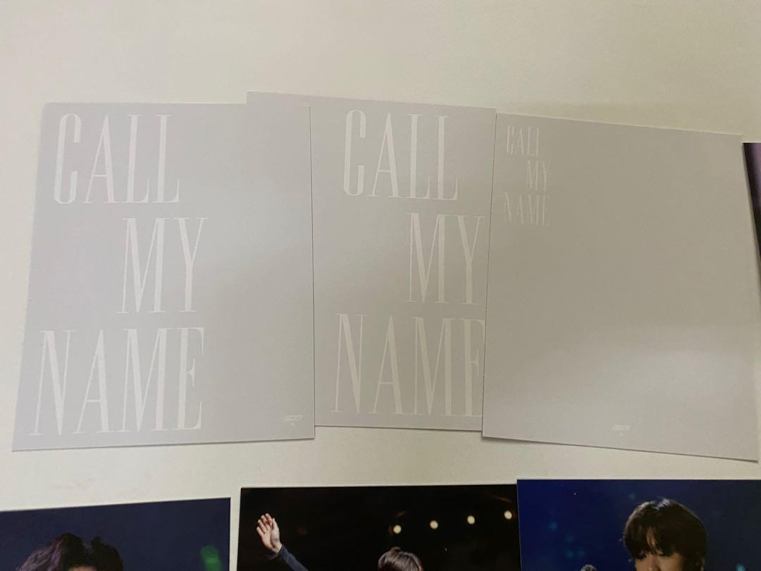 [WTS] GOT7 Call My Name Pre Order Benefit Photoset