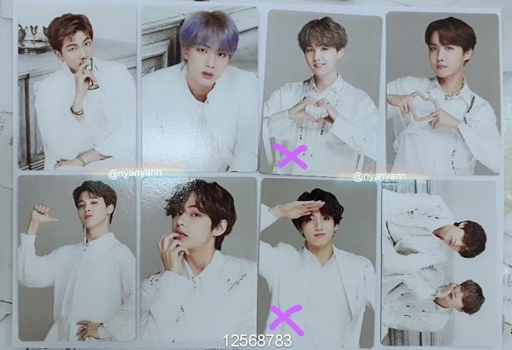 [WTS Only] BTS World Tour Speak Yourself The Final Mini Photocard