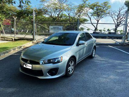 Mitsubishi Lancer Ex 1.6A Car Rental Grab/Daily