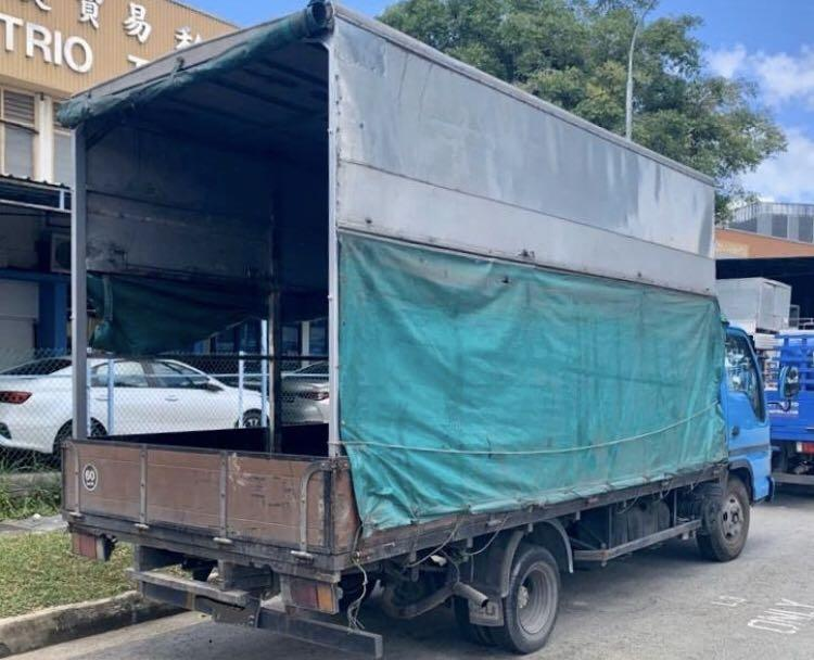 $950 - Cheapest in SG 14ft canvas lorry for rent  (class 3)