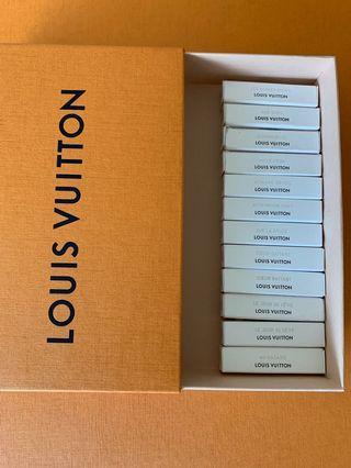 Louis Vuitton Perfume Samples & California Dream
