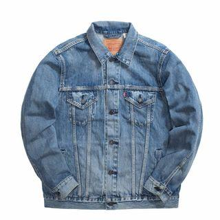 Levi's Vintage Fit Trucker Jacket 復古寬袖落肩 水洗牛仔外套 77380-0002
