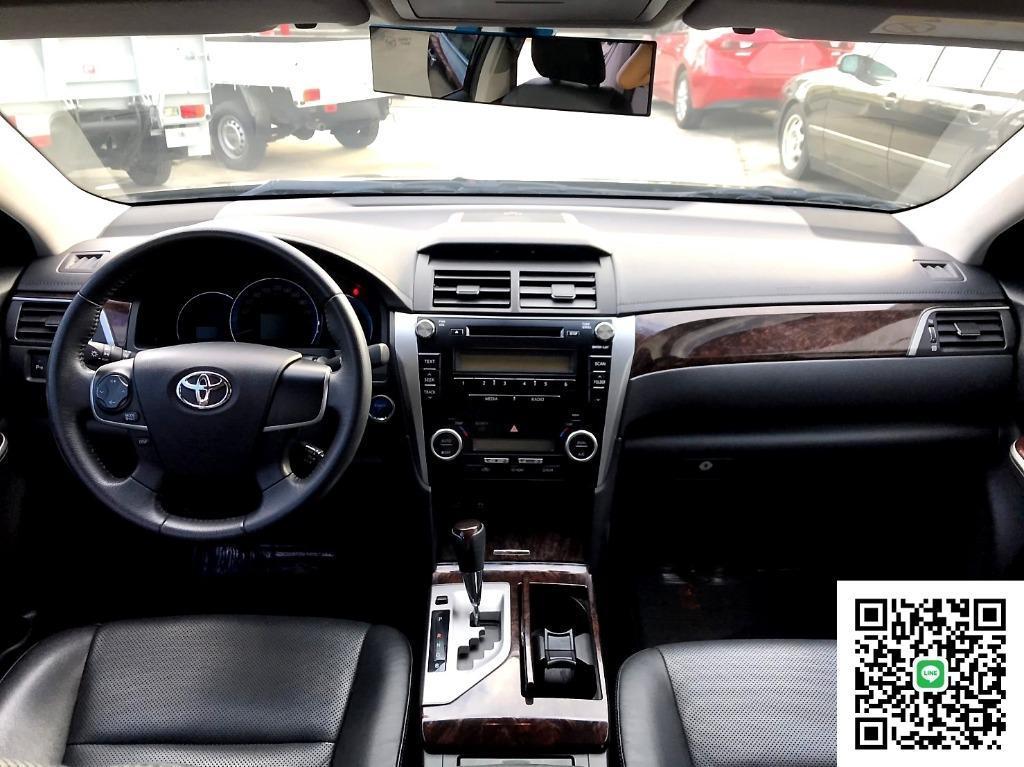 2012年 Toyota 豐田 Camry 冠美麗 2.5 Hybrid 油電 定速 快撥 過件率高 可貸84期 增貸20萬