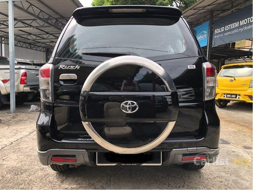 2012 Toyota Rush 1.5 S (A) Facelift One Owner  http://wasap.my/601110315793/RushS2012