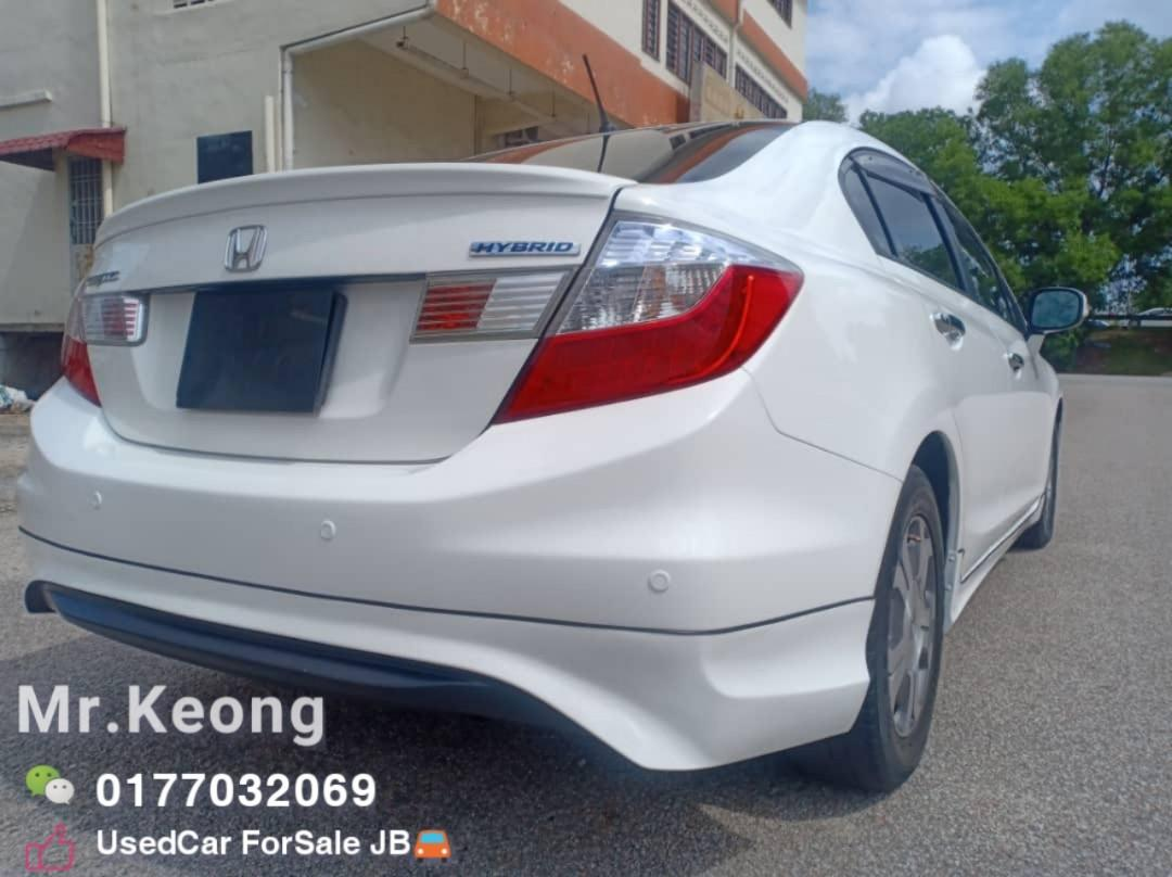 2012TH🎉HONDA CIVIC HYBRID 1.5AT Full Bodykit🎉TipTop Condition Cash OfferPrice💲Rm40,800 Only⚠️Loan Monthly Rm620 Only🚘 ️LowestPrice InJB‼Interested Call📲KeongForMore🤗
