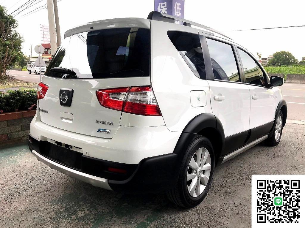 2015年 Nissan 日產 Livina 1.6 白 原廠車頂架 節能RV小玩咖 純跑5萬多 過件率高 買車貸款免保人