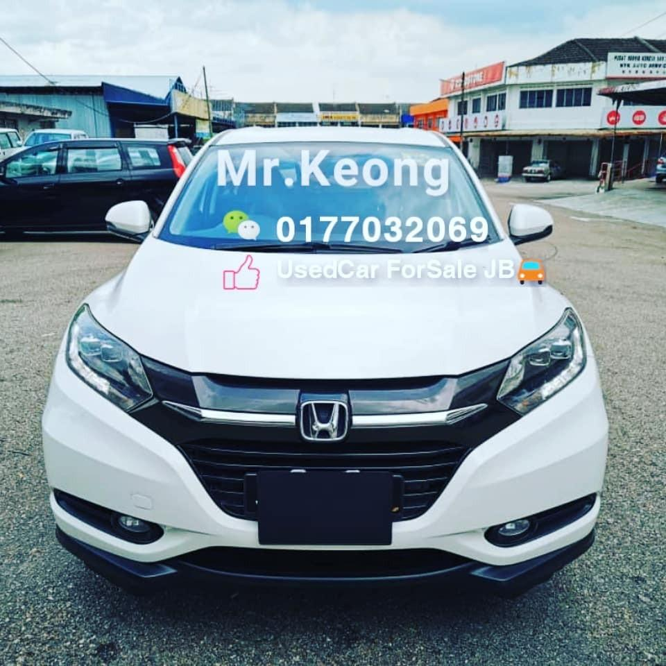 2016TH🎊HONDA HRV 1.8AT V SPEC 8XXXXKM Cash🚘OfferPrice💲Rm65,800 Only⚠️LowestPrice🔥InJB Call📲KeongFor More🤗Loan Monthly Rm840 Only🚘