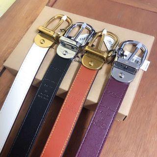 COACH 72450 72685 新款女士皮帶 腰帶 可雙面使用 附禮品盒包裝 附購證