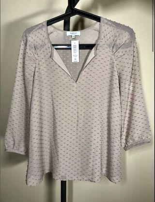 NEW Aritzia Babaton Augustus blouse top