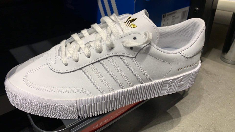 Adidas SAMBA ALL WHITE LIMITED EDITION