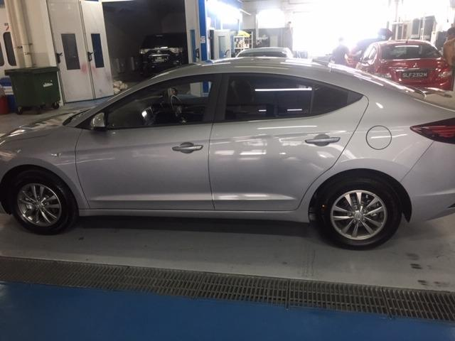 Brand new $55-$60/day Hyundai Avante with rental incentives