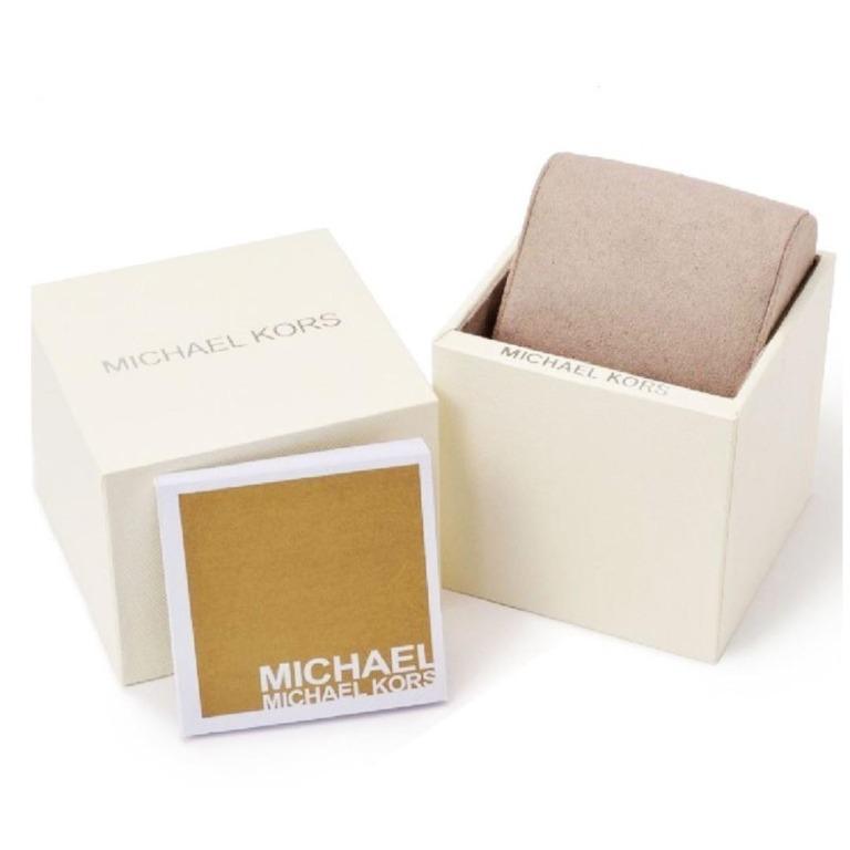 Brand New Michael Kors Michael Kors MK5606 Women's Bradshaw Chronograph Navy Blue Dial Two Tone Steel Watch