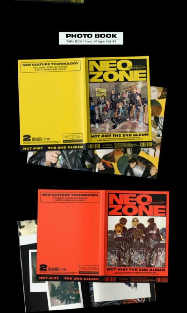 (CHOOSE VERSION) NCT  127 - NEO ZONE PRE ORDER NCT nct