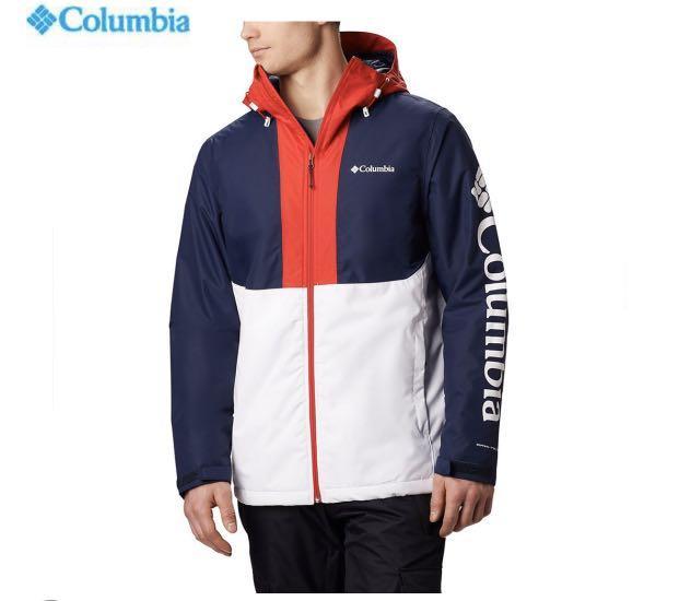 Columbia 保暖防風防水外套 L