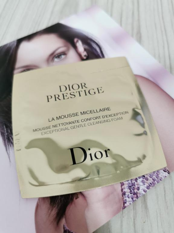 Dior Prestige La Mousse Micellaire Exceptional Gentle Cleansing Foam 5g Health Beauty Skin Bath Body On Carousell