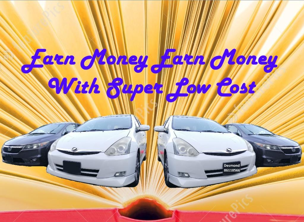 🚙Drive and Get More Money - MPV Cheap/Low Budget Car Rental (PHV)