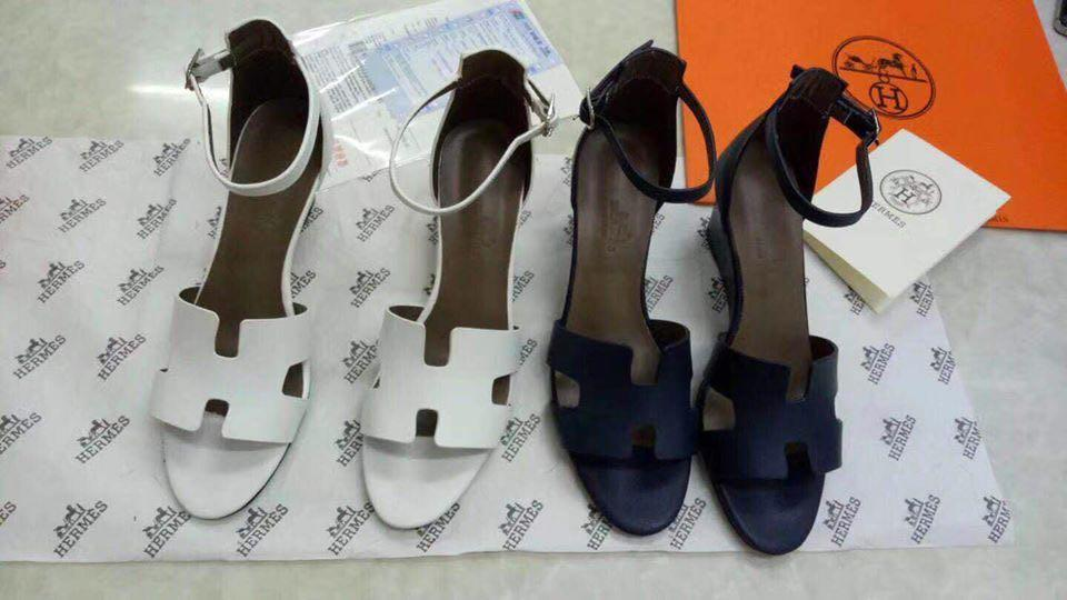 Hermes Wedge Heels, Women's Fashion