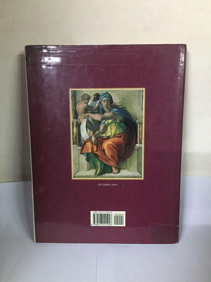 Michelangelo and the Creation of the Sistine Chapel - Hardcover Coffee Table Book