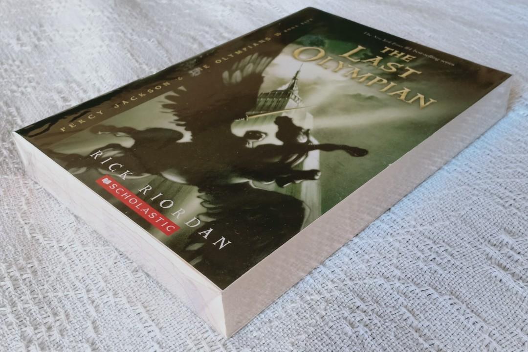 PERCY JACKSON & THE OLYMPIANS BOOK FIVE: THE LAST OLYMPIAN by Rick Riordan