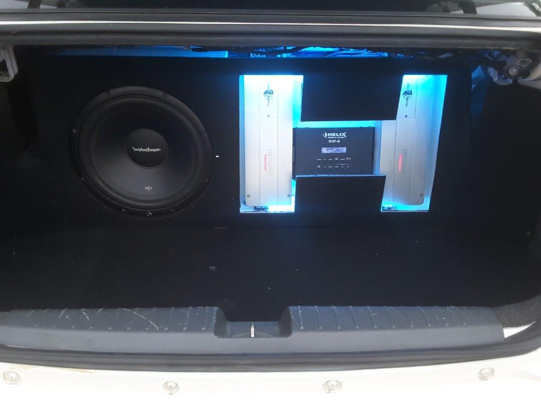 Proton Saga 1.3FL Year2011 Custom Sound System with Full-Body Sound Insulated