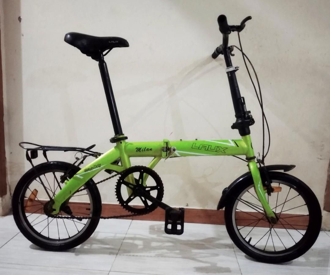 Sepeda Lipat 16 Laux Milan Olah Raga Sepeda Di Carousell
