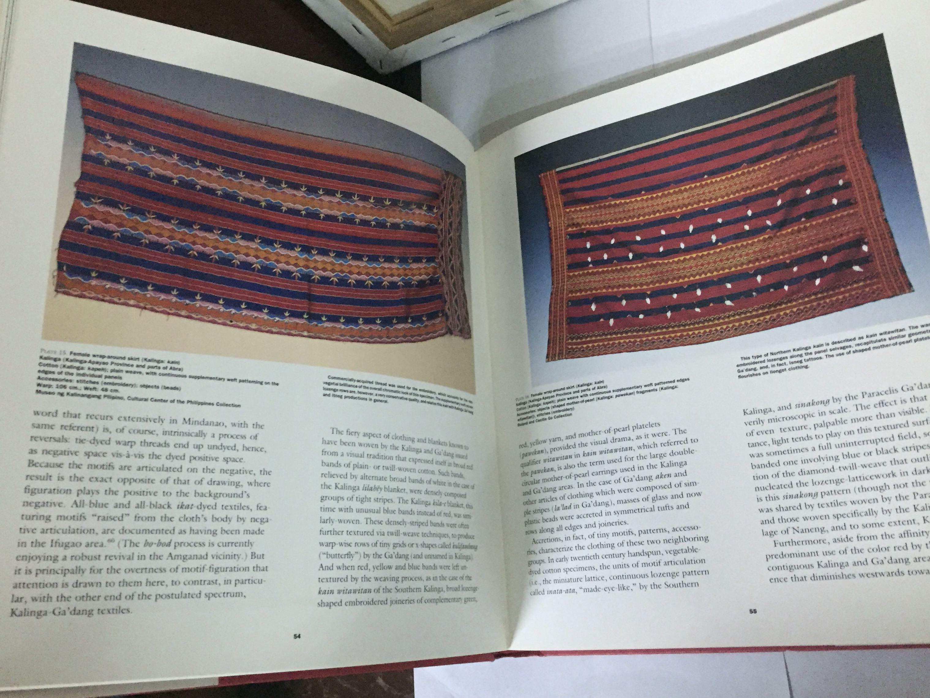 Sinaunang Habi: Philippine Ancestral Weave - Large Hardcover Coffee Table Book on Filipino Weaving