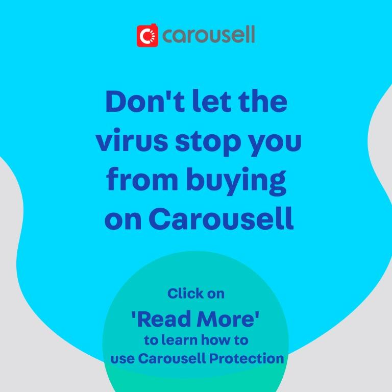 Carousell Safety Tip: Be extra alert when shopping for masks