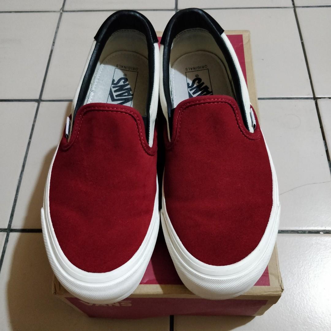 Vans Vault lx Slip-on Red dahlia, Men's