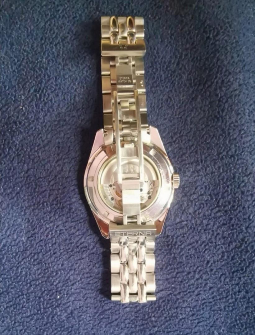 Vintage Rare 18K Gold Eterna-Matic Kontiki 1958 Chronometer Automatic Men's Watch