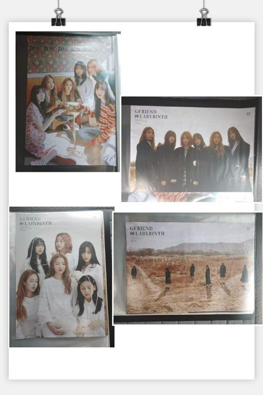 WTS Gfriend Labyrinth Album Ready Stock with Poster