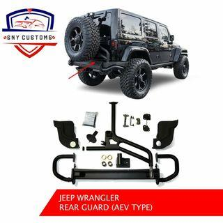 Jeep wrangler Rubicon aev Rear Bumper with Tire carrier