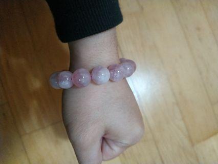 馬達加斯加粉晶手珠