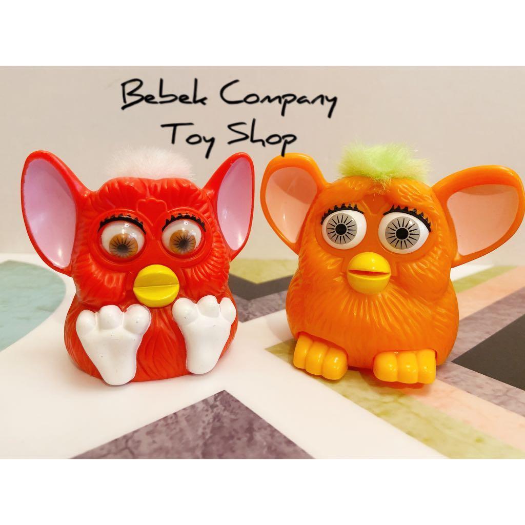 1998年 McDonald's 麥當勞 老玩具 Furby 菲比 菲比小精靈 絕版玩具 古董二手玩具