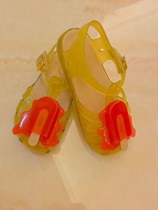 Mini Melissa Aranha Popsicle - Yellow