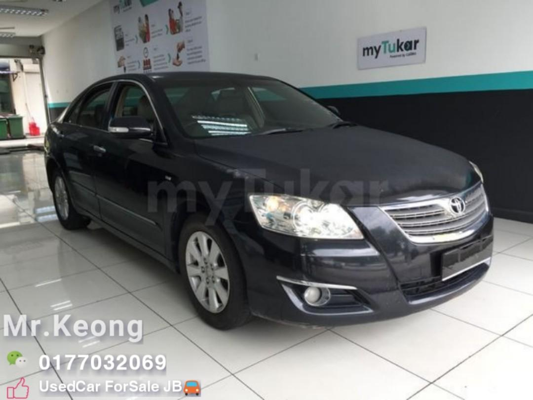 2007TH 🚘TOYOTA CAMRY 2.0AT G Spec LeatherSeat/Good Condition Cash💰OfferPrice💲Rm30,800 Only🎉️LowestPrice InJB🎉Call📲KeongForMore🤗