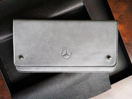 Exquisite Mercedes leather wallet NEW