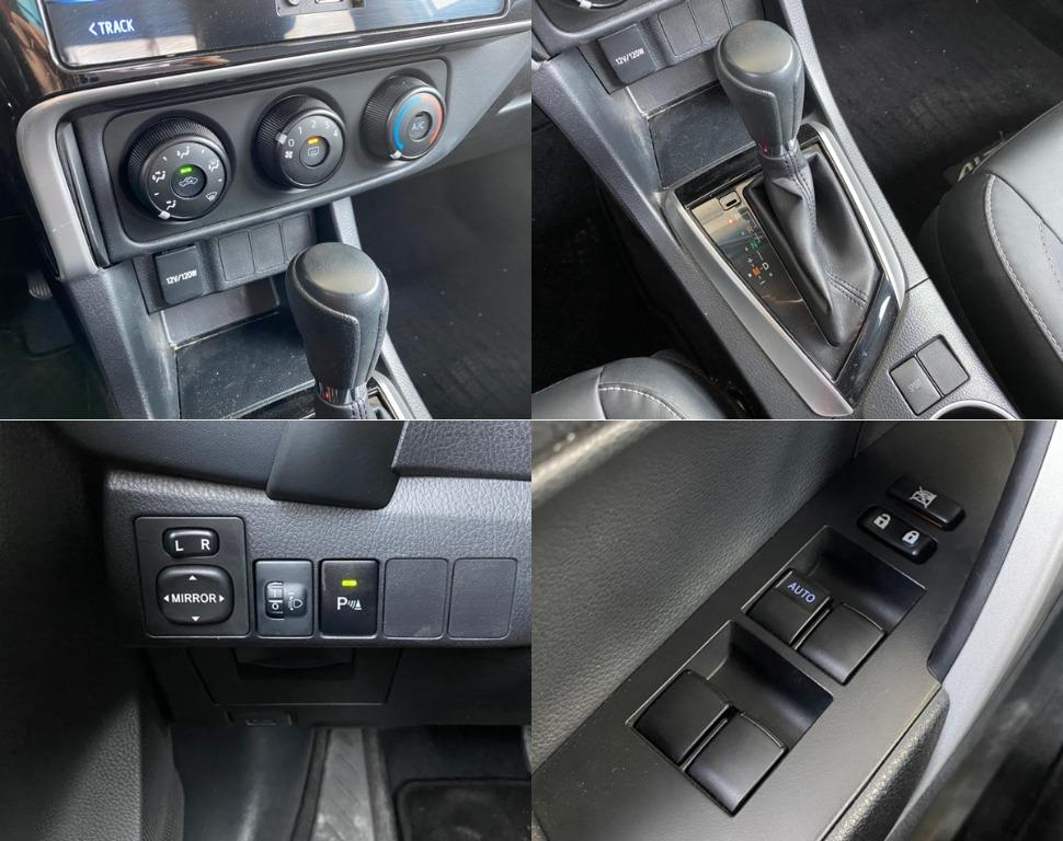 神車駕到 2017年式 Toyota 豐田 Altis 銀 11.5代 里程保證 省油 大空間 超貸20萬 免頭款保人