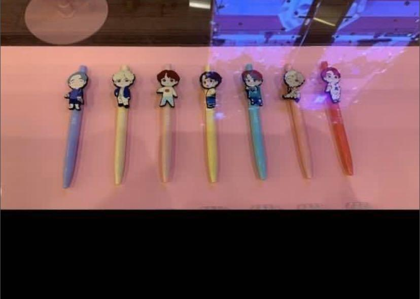 BTS LIMITED EDITION CHARACTER GEL PEN (HOUSE OF BTS)