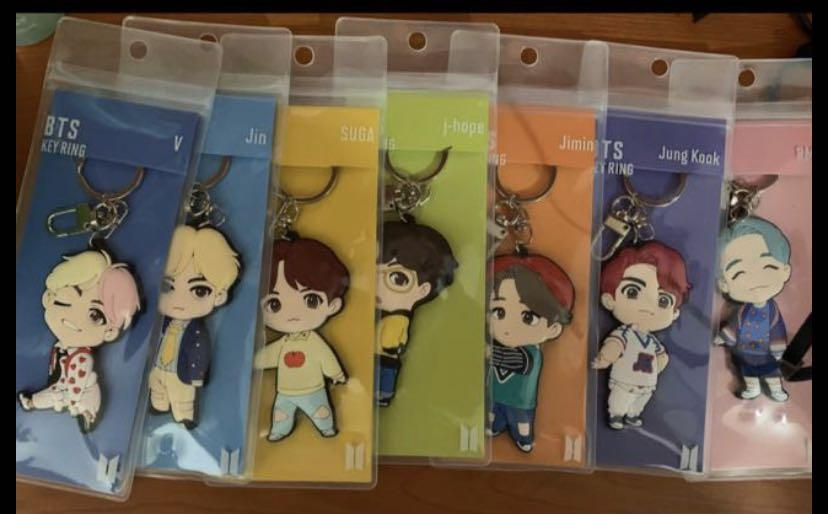 BTS LIMITED EDITION CHARACTER KEYRING (HOUSE OF BTS)