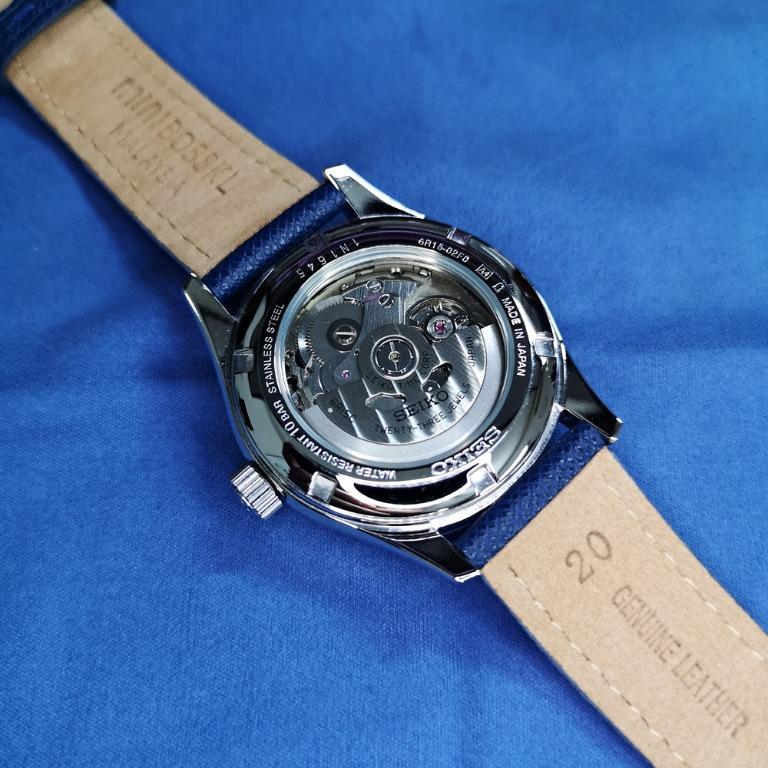 Collectible / Rare SEIKO Presage SARX005 - Automatic Navy Blue Dial 6r15