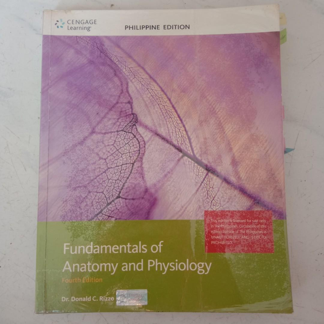Fundamentals of Anatomy and Physiology Fourth Edition Cengage Learning Philippine Edition College Books