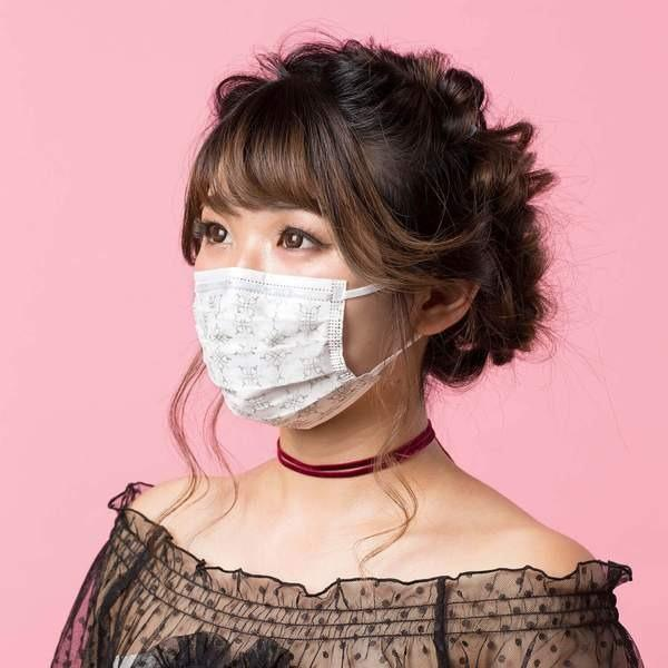 IN-STOCK & FAST SHIPPING!! Tecmask PM 2.5 Silver Snow Designer Surgical Face Mask 3Ply Nonwoven With Earloop