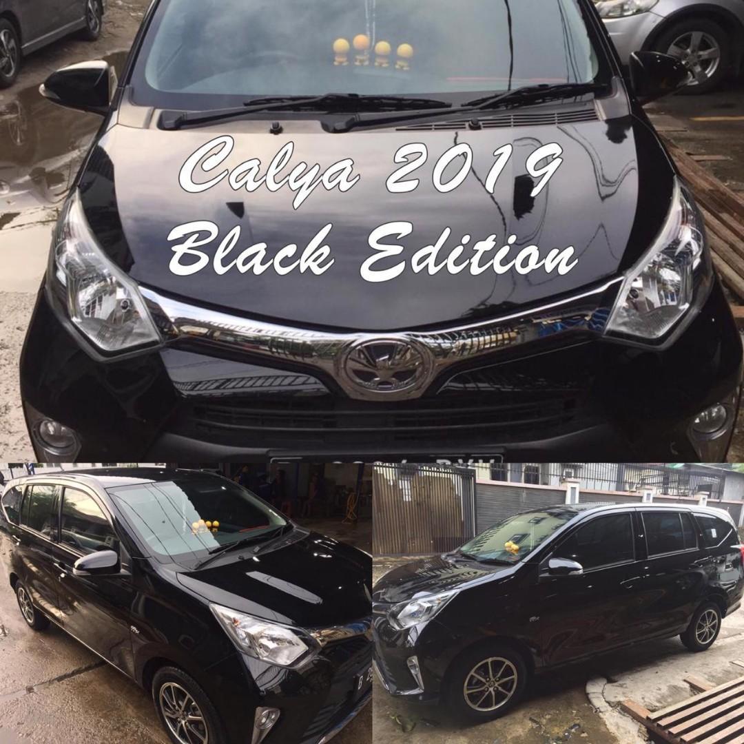 Mobil Calya Hitam Matic Tipe G Overkredit/ Tunai  Second
