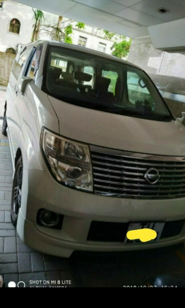 Nissan Elgrand highway star Auto