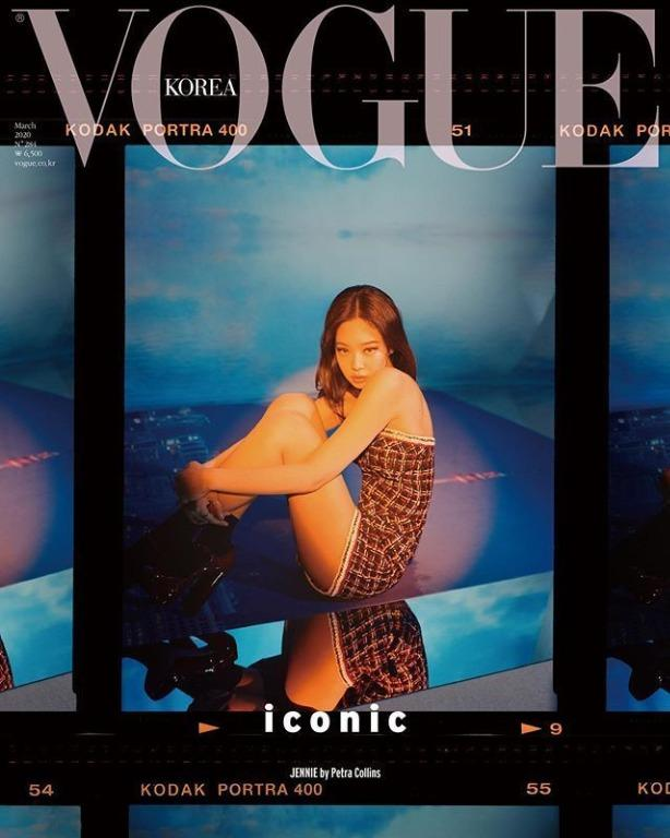 [NO 2nd Payment] Blackpink Vogue Magazine March - 2020.03