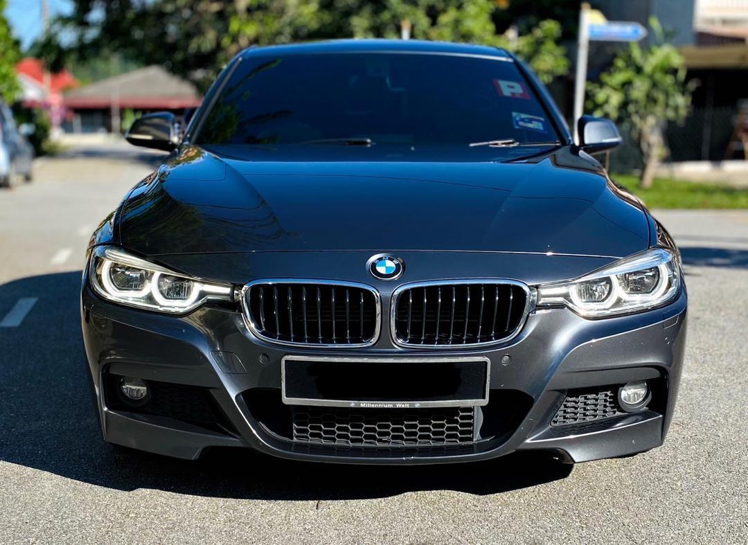 SEWA BELI BERDEPOSIT>>BMW F30 330e  ORIGINAL M'SPORT EDITION FULLSPEC  2017